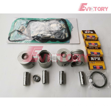 DOOSAN DC24 rebuild overhaul kit gasket bearing piston