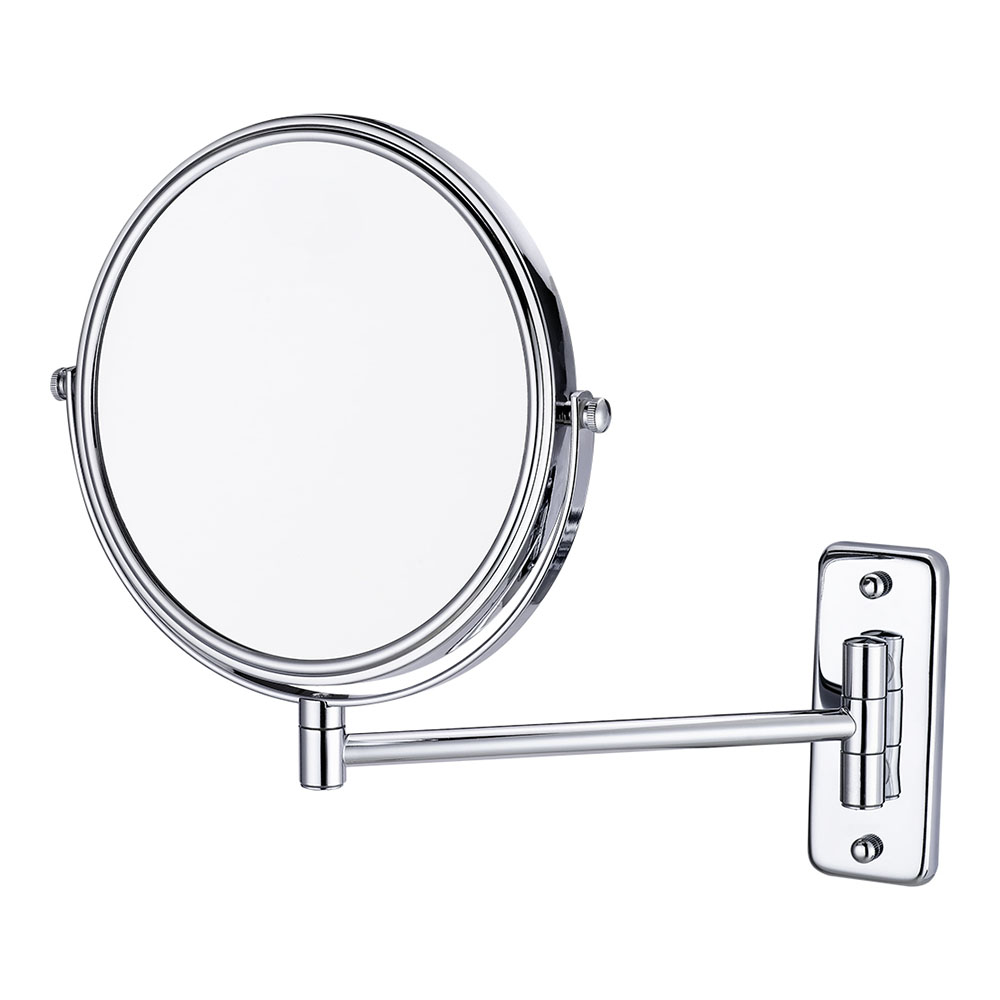 3X Magnifying double vanity mirror