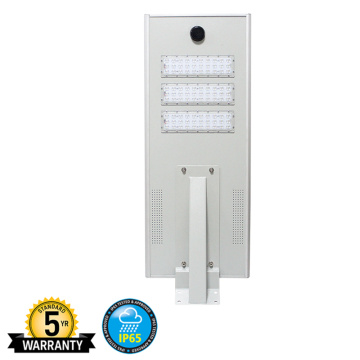 90W 100W Led Solar Street Light Lithium Battery