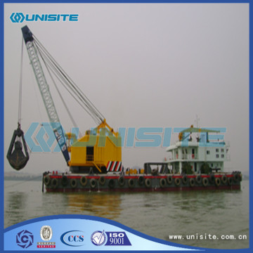 Grab marine dredger design
