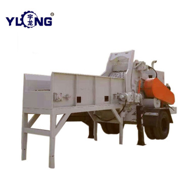 เศษไม้ Wood Logs Chipper Shredder Machine