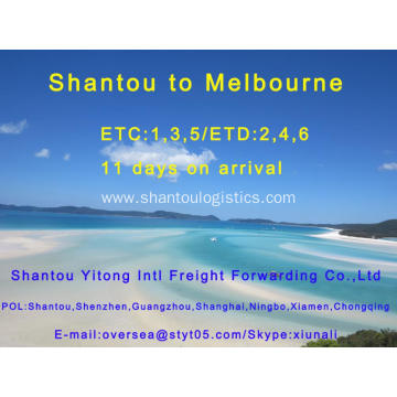 Shantou Shipping to Melbourne