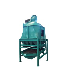 Counter Flow Cooler For Straw Spruce Alfalfa Pellet