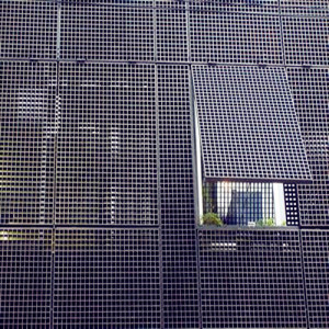 Ventilated Steel Grid Building Facades