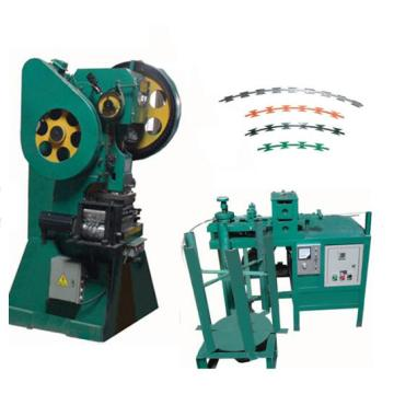 Single or double barbed wire galvanized steel barbed wire machine