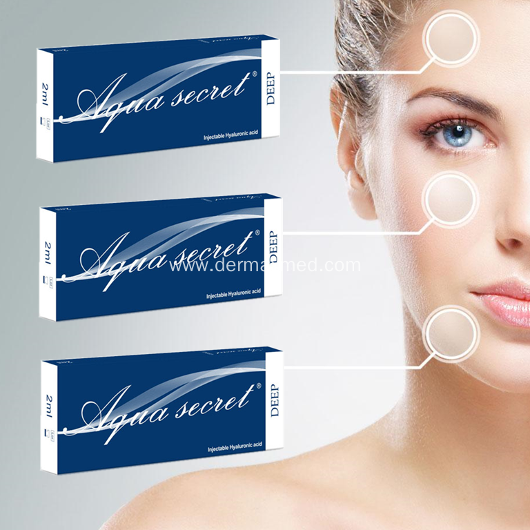 Hyaluronic Acid Injectable Dermal Filler Under Eye Bags