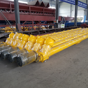 LSY 219 shaft construction cement screw conveyor