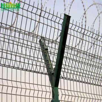 PVC coated and Galvanized high security airport fence