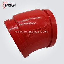 China Gold Supplier for Elbow Systems,Concrete Pump Elbow,Pipe Fitting Casting Elbow Manufacturers and Suppliers in China Concrete Pump DN125 20Degree Casting Elbow export to St. Pierre and Miquelon Manufacturer