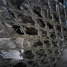 Razor Blade Security Fencing Wire