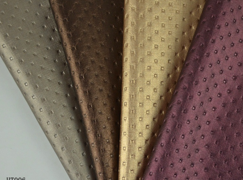 Odorless soft package decorative leather fabric