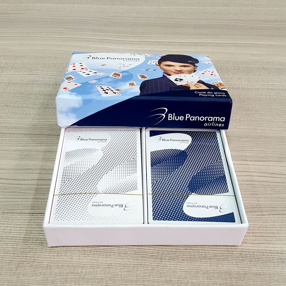 Paper Card With Custom Logo