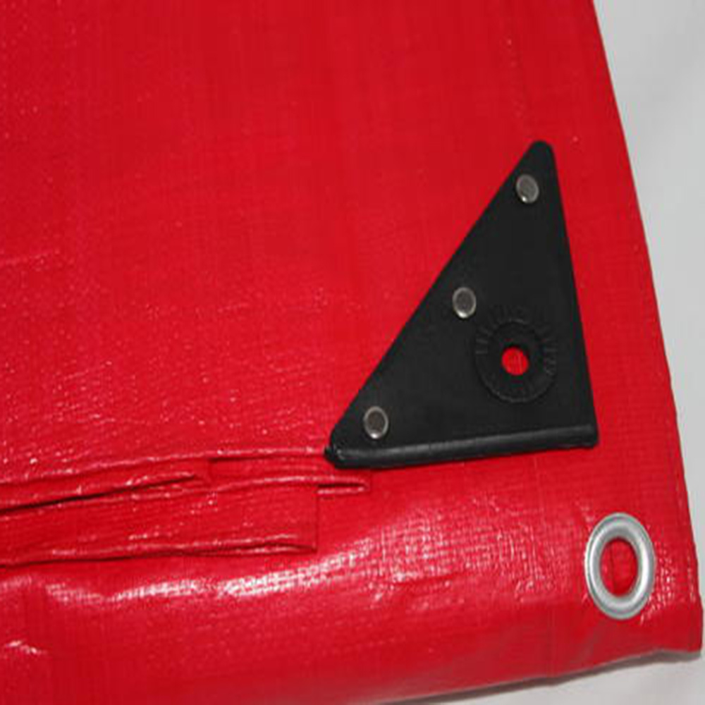 Large Red Heavy Duty Tarpaulin Truck Covers