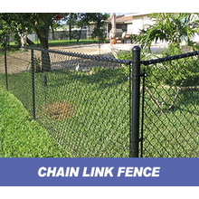 galvanized chain link fence as prison mesh