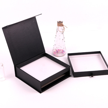 Black Flip Double Drawer Box Candy Gift Box