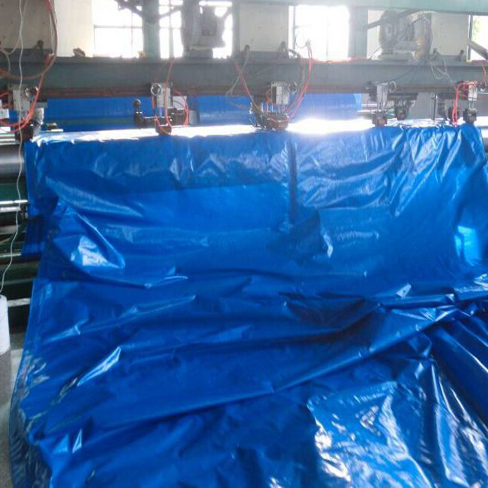 China Blue PE Tarpaulin 3x4m