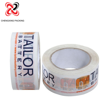 Hot Melt Printed Tape with Logo