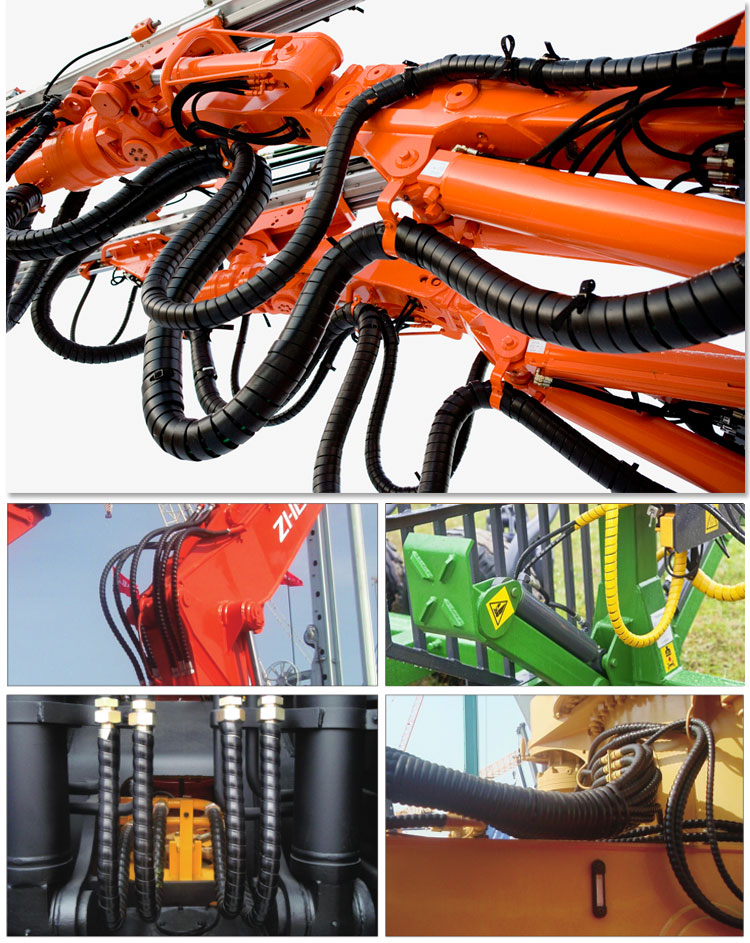 Hydraulic Hose Guard Application
