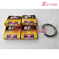 VOLVO engine parts piston BF4M2011 piston ring