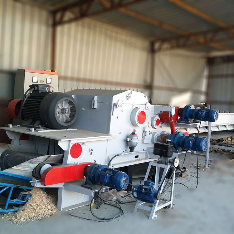 Wood Chips Producing Machine