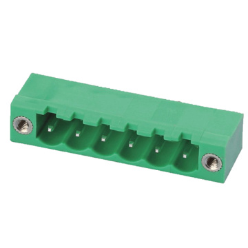 Plug-in Terminal Block Close Right-Angle W/F Pitch:7.5/7.62