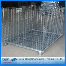 Personlized Products for China Collapsible Metal Storage Cage, Pvc Coated Storage Cage factory New Design Cable Storage Metal Pallet Cage export to Greece Importers