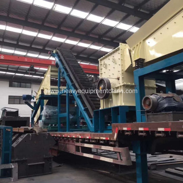 Road Construction Machine Impact Crusher