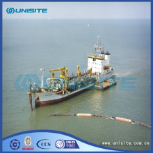 Trailer hopper suction dredger design