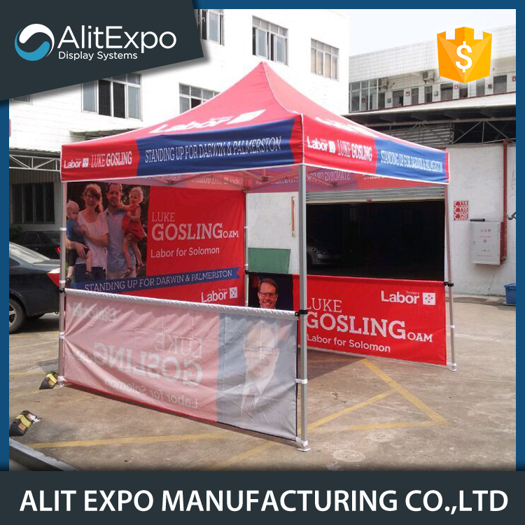 Cheap custom printed tradeshow canopy tent
