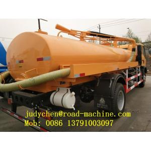 8M3 Sewage Suction Truck SWZ 4X2