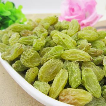 Best selling green rasins from Xinjiang
