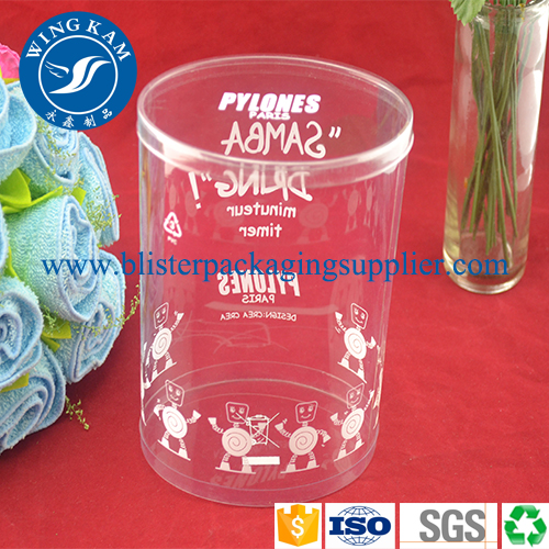Clear Tube Storage Display Container Packaging