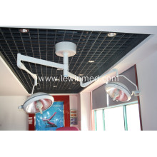 Fast Delivery for Best Double Dome Halogen Operating Lamp,Double Dome Operating / Surgical Room Lamp Manufacturer in China double head ceiling type operating light export to Anguilla Wholesale