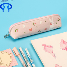 Factory Promotional for Pencil Case Custom junior high school vintage pencil case supply to Russian Federation Factory