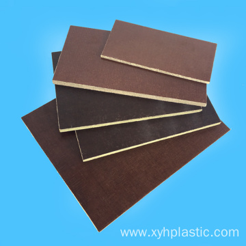 3025 Insulating Coffe Brown Fabric Phenolic Cotton Plate