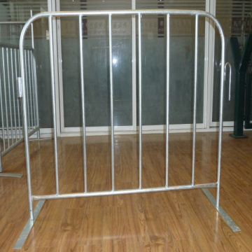 Powder painted Steel Crowd Control Barrier Moveable
