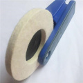 100% Mountedwool felt polishing wheel for Jewelry