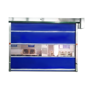 Workshop PVC Automatic Fast Roll up Door
