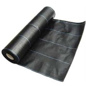Black Color Mulch Weed Control Fabric Mat