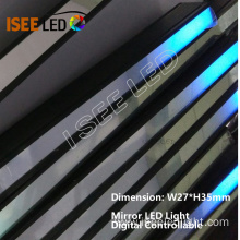 Mirror Cover LED Light Digital DMX Control