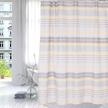 Factory directly for Polyester Shower Curtain Shower Curtain Polyester Classic Horizontal supply to Cape Verde Importers