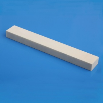 Machined rectangle 99.5% alumina ceramic bar