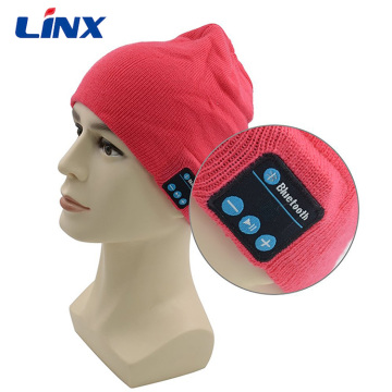 Bluetooth Soft Material Acrylic Knitted Beanie Hat Headphone