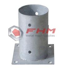 Excellent quality for for Fence Post Anchors Galvanized Round Anchor for Round Post supply to Germany Wholesale