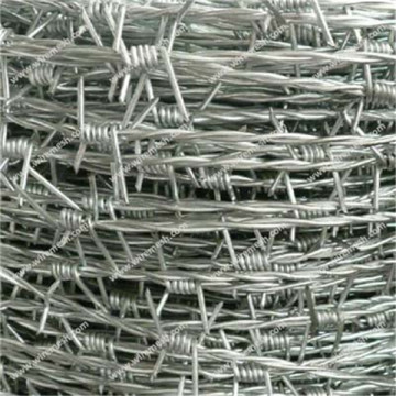 13-3/4 Aluminized Aluminum clad steel barbed wire