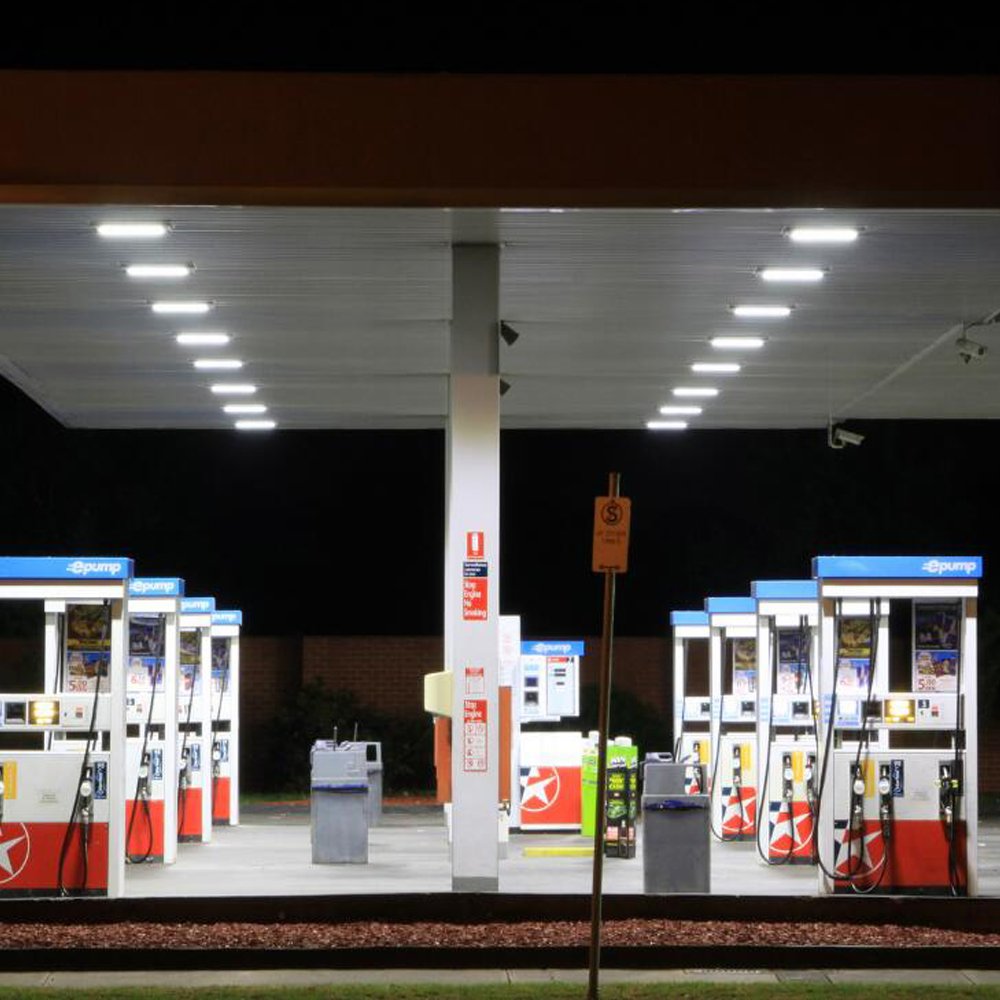 Led Canopy Lighting Gas Stations