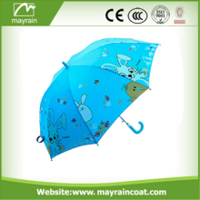 Wonderful Print Stright Handle Stick Umbrella