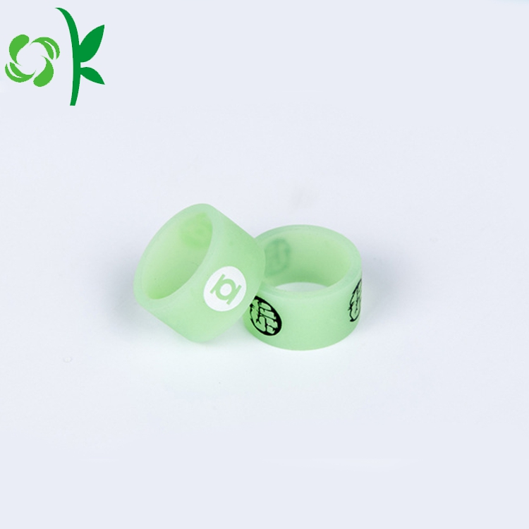 Silicone Ptinted Ring