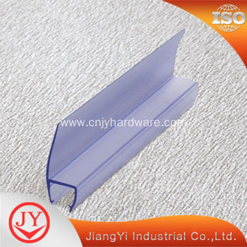 Waterproof glass edge PVC guard trim seal strip