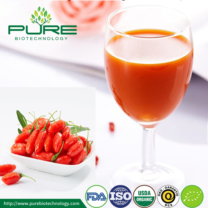 Organic Goji Raw Juice With NOP EU Certified (4)